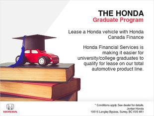 The Honda Graduate Program