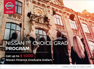 Nissan 1st Choice Grad Program