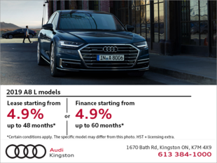 Drive the 2019 A8 today!
