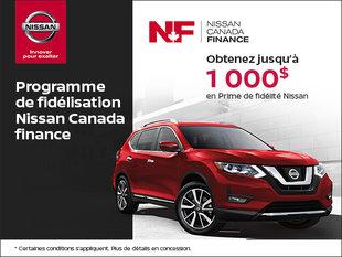 Programme de fidélisation Nissan Canada