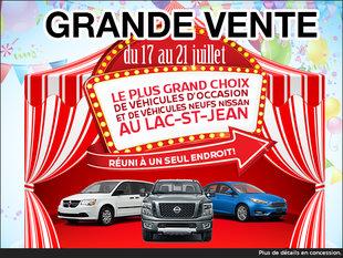 Grande vente au Lac-St-Jean!