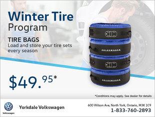 Volkswagen Tire Bags
