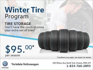 Volkswagen Tire Storage