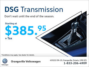 Get a DSG Transmission Starting at $385.95!