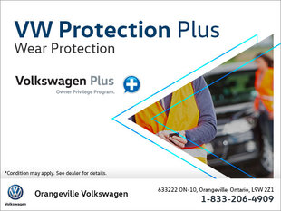 Get Wear Protection with Volkswagen Protection Plus!
