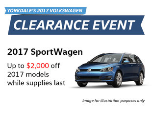 2017 Clearance Event: SportWagen