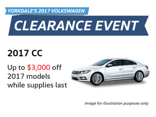 2017 Clearance Event: CC