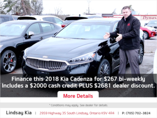 Kia Cadenza Offer