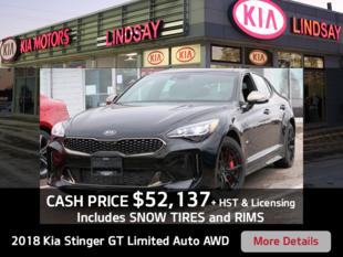 Kia Stinger Cash Offer