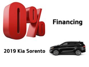 Kia Sorento offer