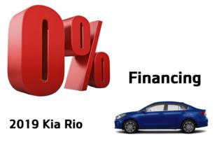 Kia Rio offer