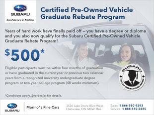 Certified Pre-Owned Graduate Program