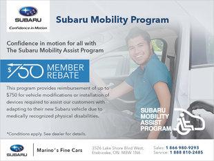Subaru Mobility Assist Program