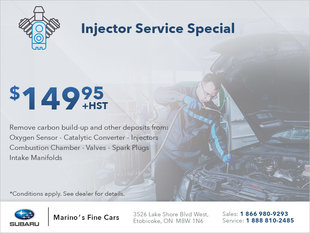 Injector Service Special