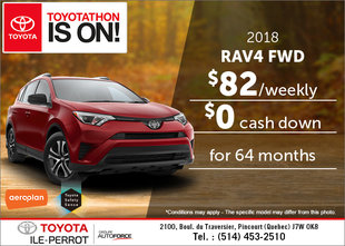 Save on the 2018 Toyota RAV4 Today!