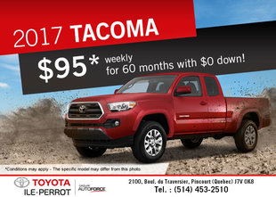2017 Toyota Tacoma for sale!