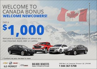 Welcome to Canada Bonus