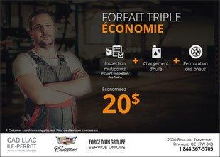 Forfait triple économie