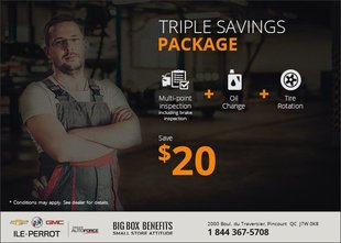 Triple Savings Package