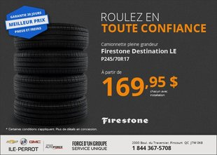 Pneus Firestone Destination LE
