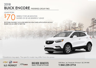 Save on the 2018 Buick Encore!