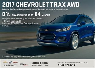 Save on the Chevrolet Trax