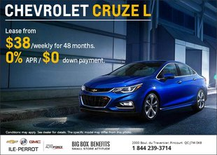 Lease the Chevrolet Cruze L
