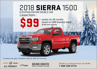 Get the 2018 GMC Sierra 1500 Today!
