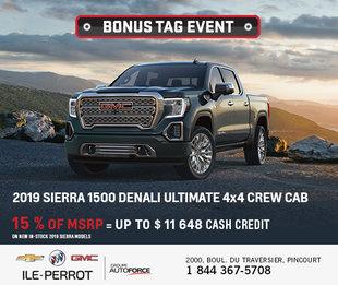Bonus Tag Event - Sierra