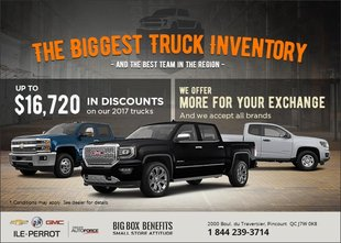 The Biggest Truck Inventory!