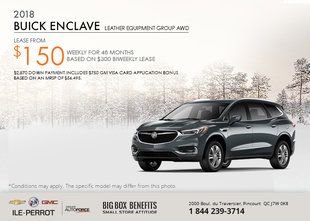 Save on the 2018 Buick Enclave!