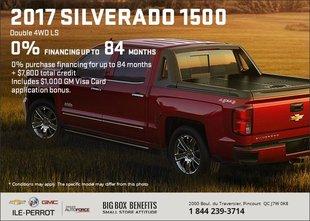 Big Savings on the 2017 Chevrolet Silverado