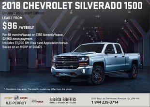 Big Savings on the 2018 Chevrolet Silverado