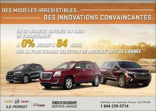 Économisez sur la gamme VUS de Chevrolet!