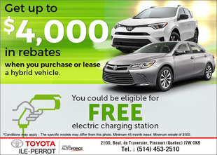 Save with the Drive Electric Program!