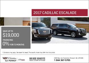 Save on the 2017 Cadillac Escalade Today