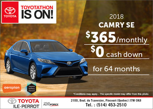 Get the 2018 Camry!