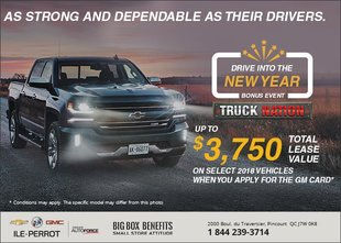 Drive Into the New Year - Chevrolet