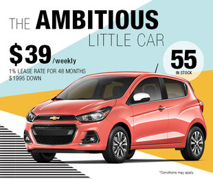 2018 Spark : The ambitious little car