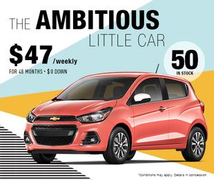 2018 Spark : The ambitious little car