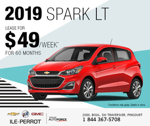 2019 Spark : Newly redesigned