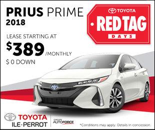 Prius Prime : Red tag days
