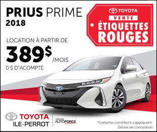 Prius Prime : Vente étiquettes rouges