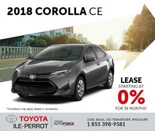 2018 Corolla CE