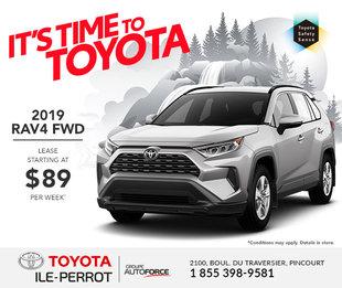 2019 RAV4 FWD
