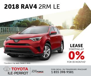 2018 RAV4 2RM LE