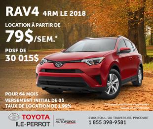 RAV4 4RM LE2018
