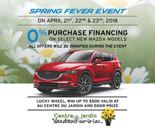 Spring fever event