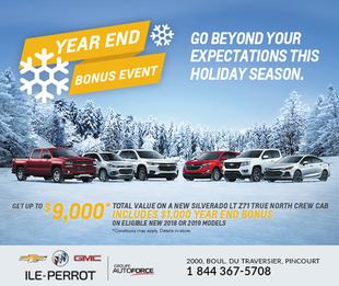 Year End Bonus Event