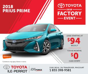 Prius Prime : Factory event